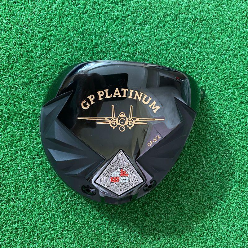 Golf Clubs Driver Men High Rebound Head Only GRAND PRIX Titanium Loft 10 No Shaft