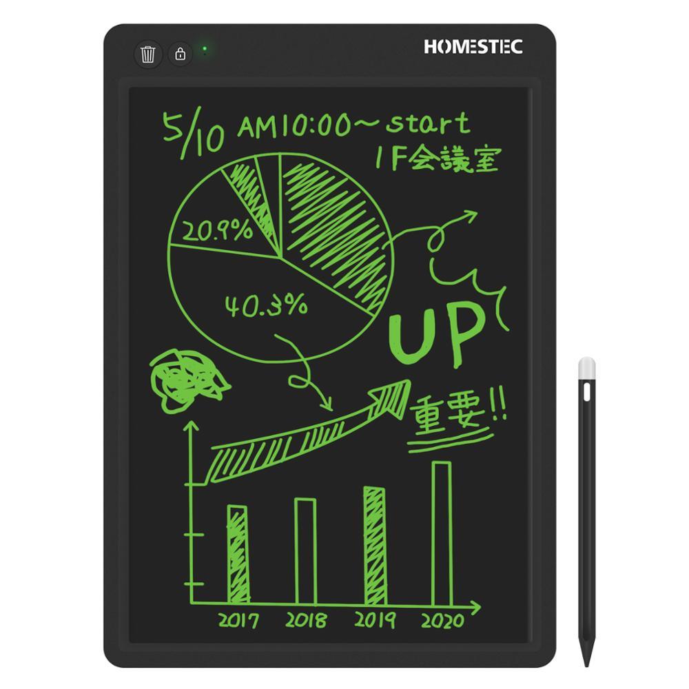 NEWYES-جهاز لوحي للكتابة بشاشة LCD مع قلم للأطفال ، 13.5 بوصة ، رقمي ، خط اليد ، رسم الرسائل ، لوحة الرسم
