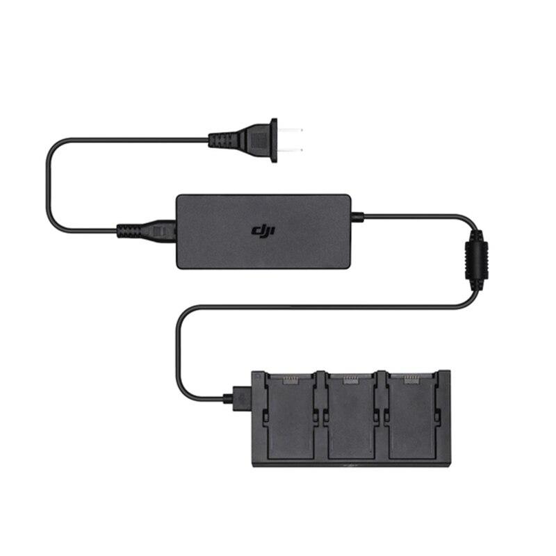 DJI Funken Batterie Lade Hub Ladung 3 batterien zur gleichen zeit original Drone-Akku-Ladegeräte    -