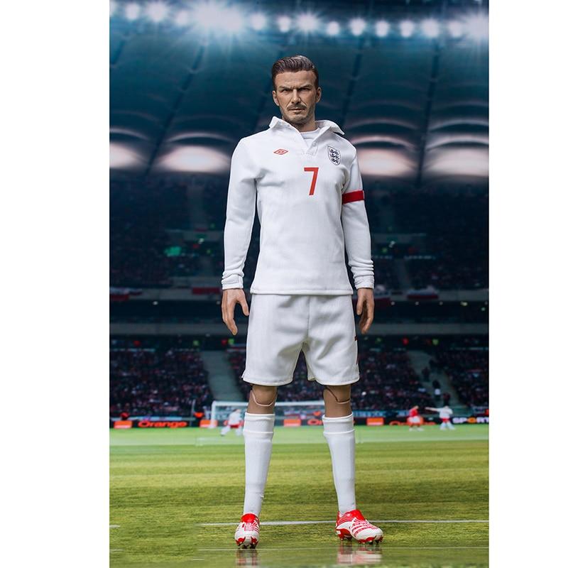 Phicen 1/6 Escala soldado Número 7 Beckham Lenda estrela do futebol Figura de Ação Modelo de Brinquedo para crianças brinquedo