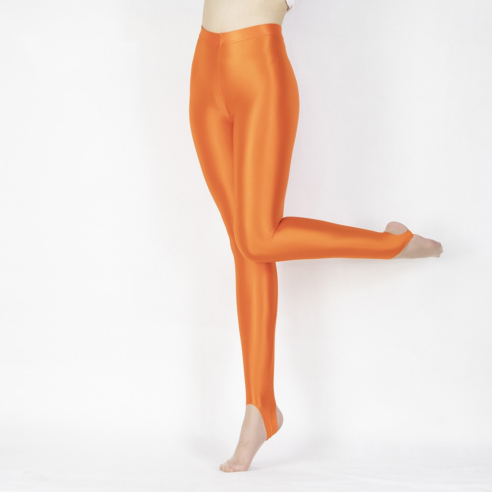 Summer Women's Leggings Shiny Slippery Tights Women's Trousers Glossy Legging  11 solid color xs-xxxl large size women's pants