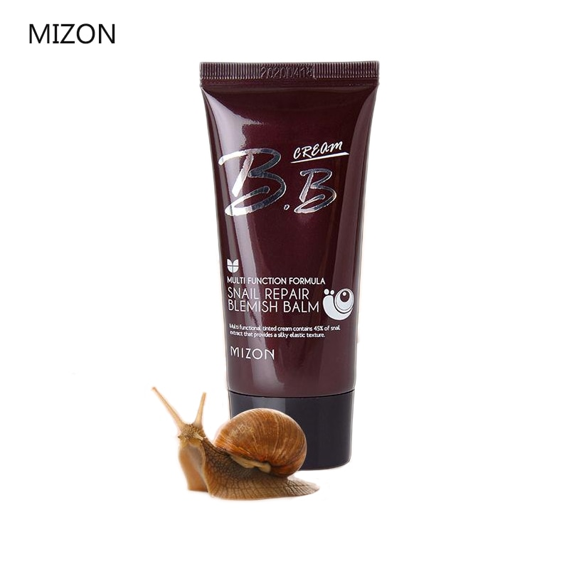 MIZON Snail Repair Blemish Balm BB Cream 50ML Korean Cosmetics BB CC Cream Base Makeup Sun Block Long Lasting Moisturizing CARE
