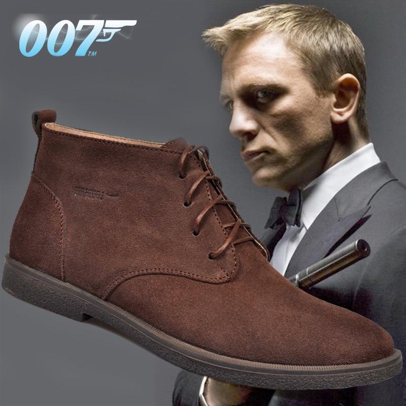 جديد حذاء رجالي أحذية الشتاء جلد الغزال أحذية الرجال أحذية الثلوج أحذية الشتاء مقاوم للماء جلد الرجال حذاء من الجلد الفراء حذاء رجالي