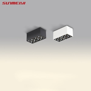 Surface Mount Ceiling Downlights 2x8W LED lamp Nordic Spot Light For Indoor AC85-265V Spot Lighting Fixture