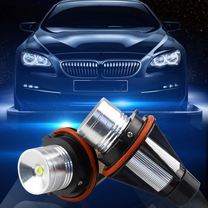 Ajuste de E39-5W para BMW, Ojo de Ángel, anillo de Halo libre de Error, bombillas de luz de colocación en blanco de 6000K