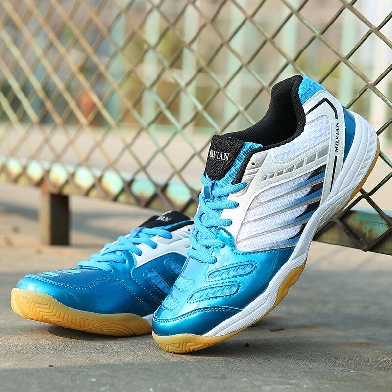 Homens e Mulheres Leve e Confortável Desgaste-resistente e Não-deslizamento Sapatos de Tênis Casal Calçados Esportivos Sapatos Badminton Tênis