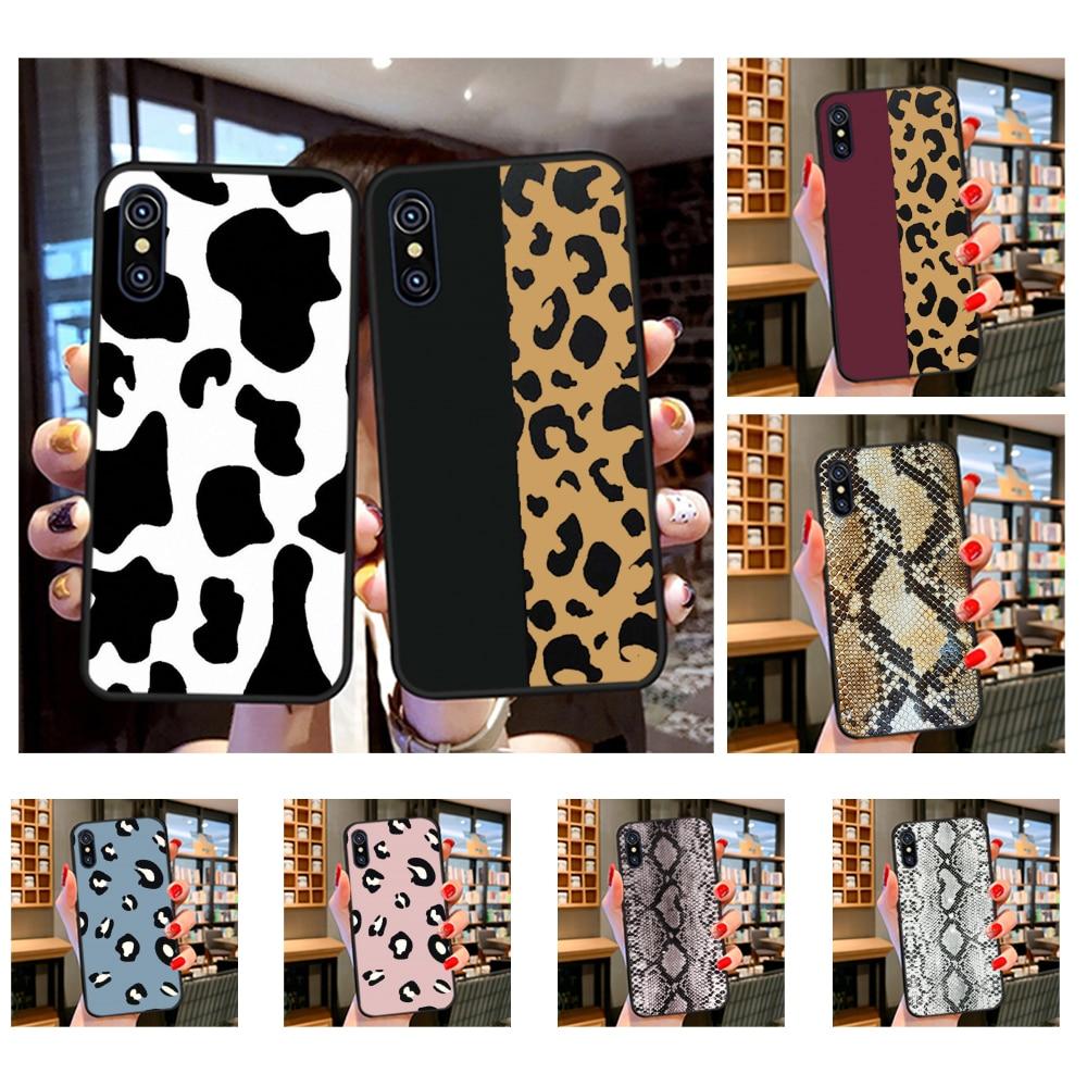 NBDRUICAI Cow Print Black White Soft black Phone Case for iPhone 11 pro XS MAX 8 7 6 6S Plus X 5S SE XR case