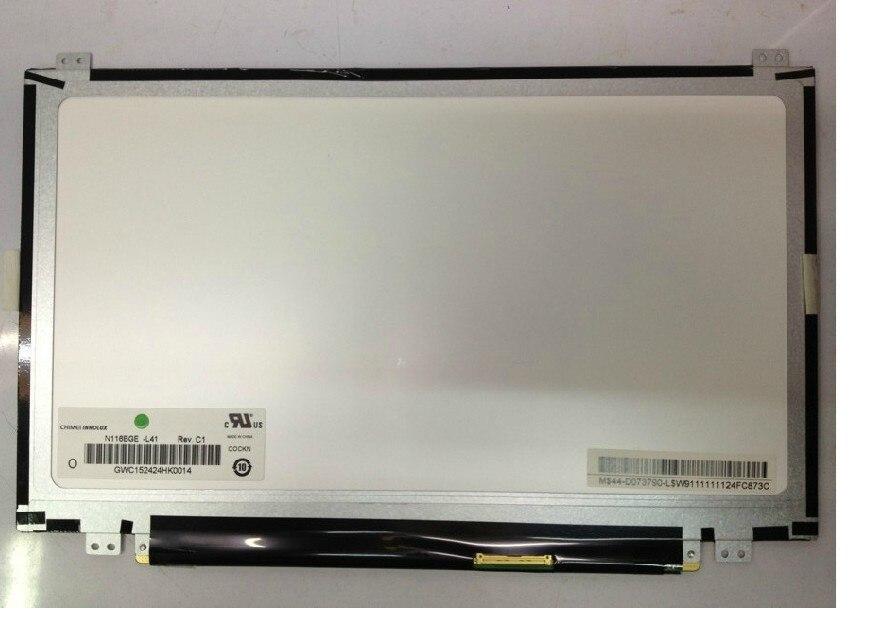 100% الأصلي B116XW03 V.2 N116BGE-L41 ، N116BGE-L42 ، 11.6
