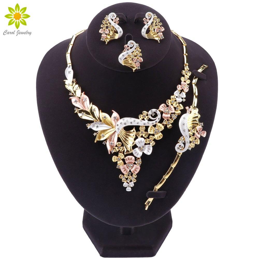 Conjunto de joias dubai, conjunto de jóias para mulheres estilo africano com miçangas conjunto de jóias para festa e casamento