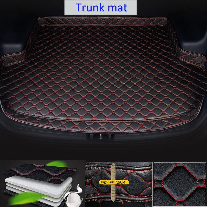 Elevado-lado do carro Mat Tronco À Prova D Água Modificação Tronco Pat 10th Proteção Para Honda Civic 2016 2018 2019 2020 Carro decorações