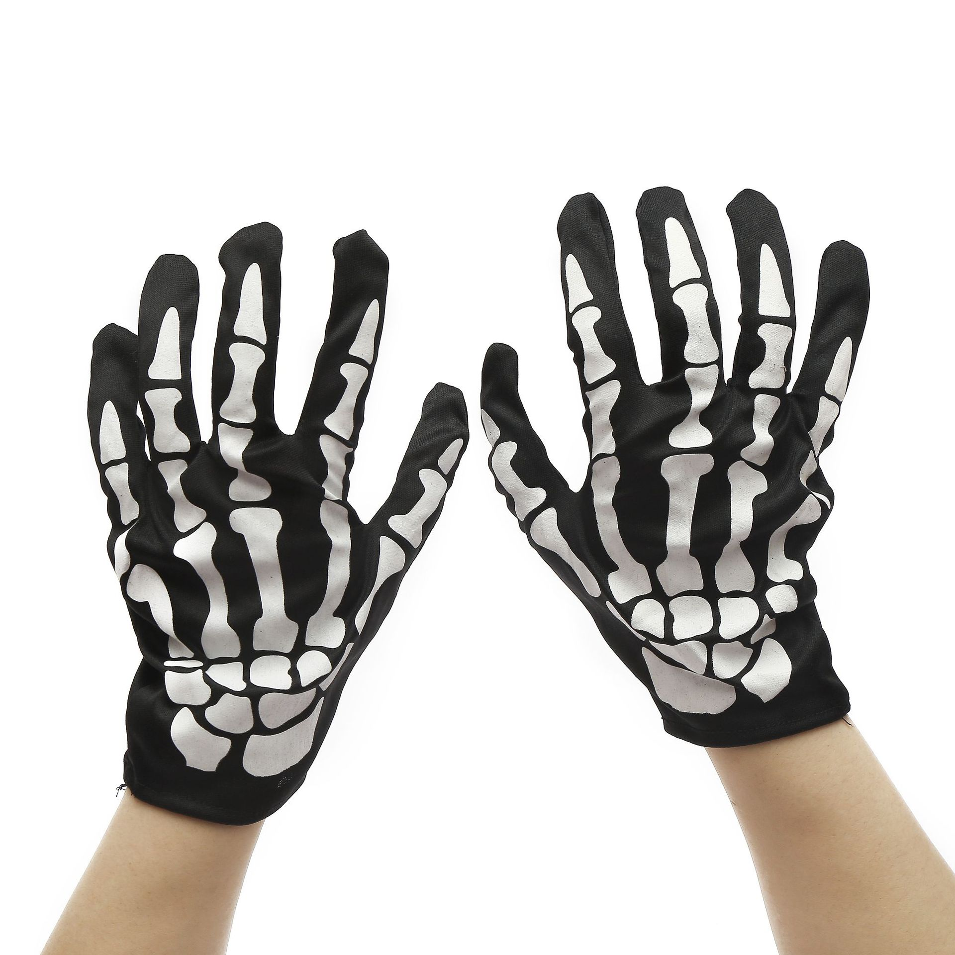 Halloween Bone Gloves Horror Skull Claw Skeleton Goth Cycling Gloves Motorcycle Climbing Bike Bicycle Outdoor Sports Gloves