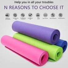 # H40 Tpe Yoga Mat Fitness Gymnastiek Matten Antislip Beginner Sport Tapijt Pads Vrouwen 10 Mm Matten Yoga voor Beginner Drop Shipping