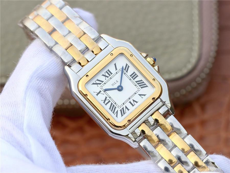 ساعة طبق الاصل للنساء W2PN0006 22*30 مللي متر حجم الذهب الأصفر اللون كوارتز ساعة ماركة فاخرة رائجة البيع عالية الجودة