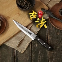 hand forged boning knife slaughter cutting knife special sharp knife bloodletting knife slaughter kill cattle tang knife