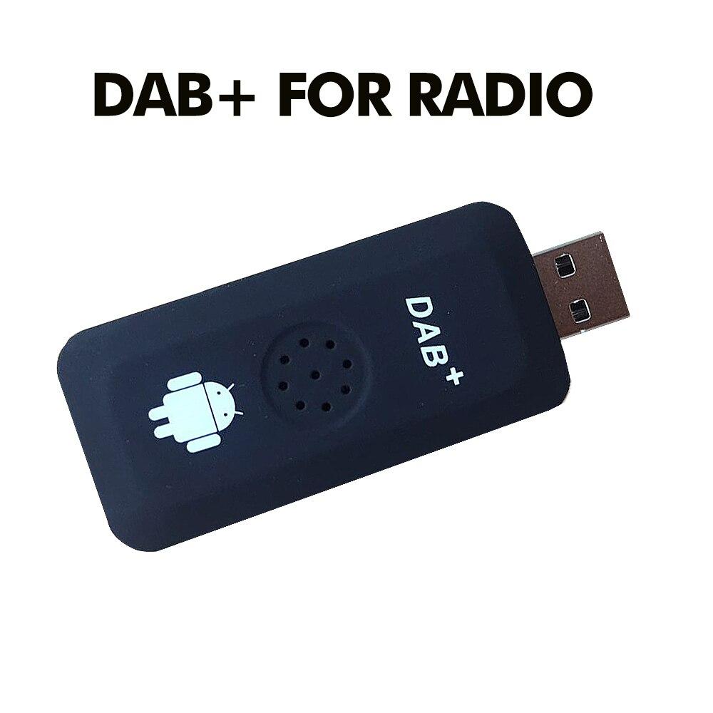 USB 2.0 الرقمية DAB + راديو موالف استقبال عصا ل أندرويد مشغل أسطوانات للسيارة لاعب Autoradio ستيريو USB DAB أندرويد راديو سيارة راديو