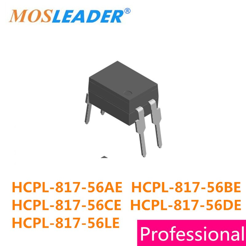 DIP4 100 قطعة HCPL-817-56AE HCPL-817-56BE HCPL-817-56CE HCPL-817-56DE HCPL-817-56LE