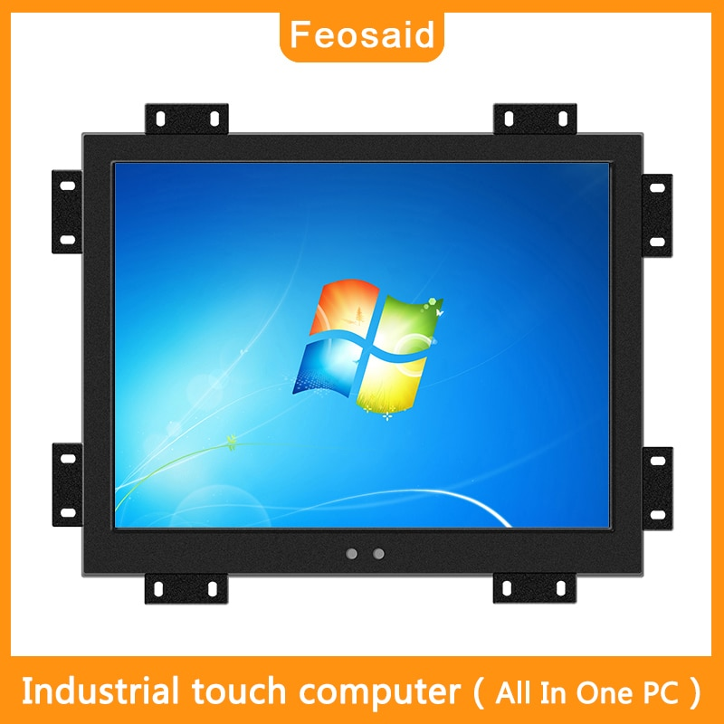 Feosaid 19 inch embedded Industrial computer Resistive touch can be used in commercial advertising machine Resolution 1280x1024