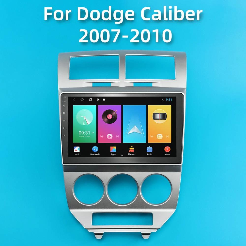راديو السيارة الاندورويد ل دودج كاليبر 2007-2010 2 الدين 10.1