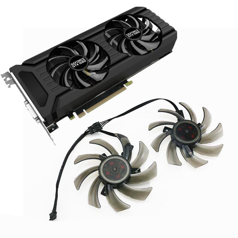 colorful geforce gtx 1660 ti graphics card NEW 85MM GA91S2U FDC10H12S9-C 4PIN GPUCooler Fan Replace For Palit GeForce GTX 1070 Ti 1070 1060 1080 GTX1060 Dual Graphics Card
