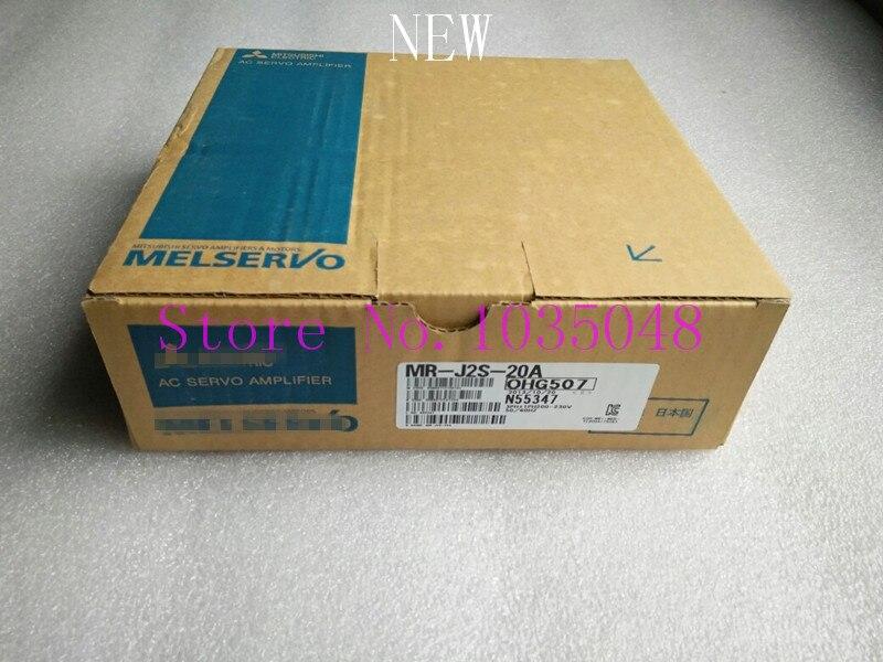 1 Pza MR-J2S-20A MR J2S 20A MRJ2S20A nuevo y Original uso de prioridad de DHL entrega #04