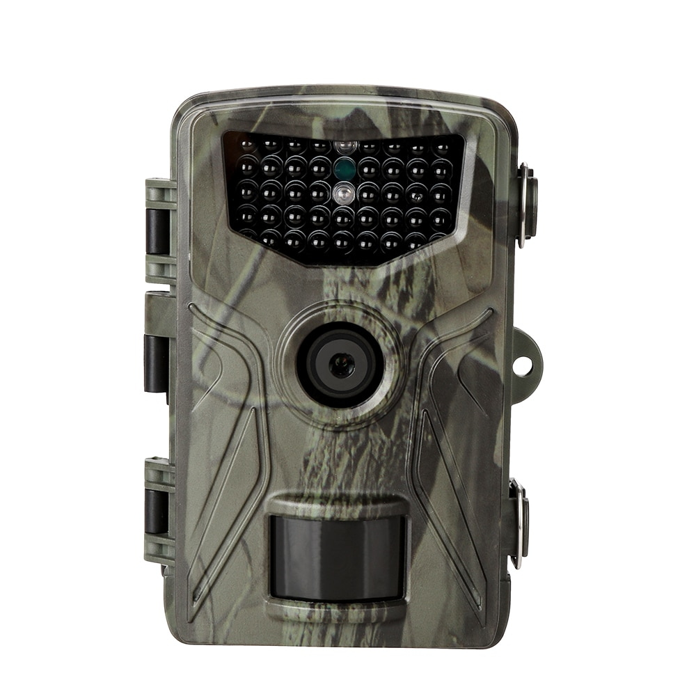 mini trail game camera night vision 1080p 12mp waterproof hunting camera outdoor wild photo traps with ir leds range up to 65ft HC804A Hunting Trail Camera 16MP 1080P Wildlife Camera 0.3s Trigger IR LEDs Night Vision Outdoor Animals Camera Photo Traps