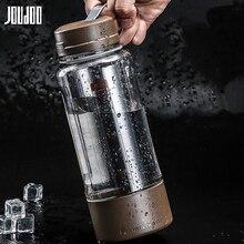JOUDOO bouteille deau en plastique   De 600ML/1000ML/1500ML, bouteille de thé à grande capacité, bouteille de thé à jus Portable de Sport deau, bouteille de vaisselle dextérieur