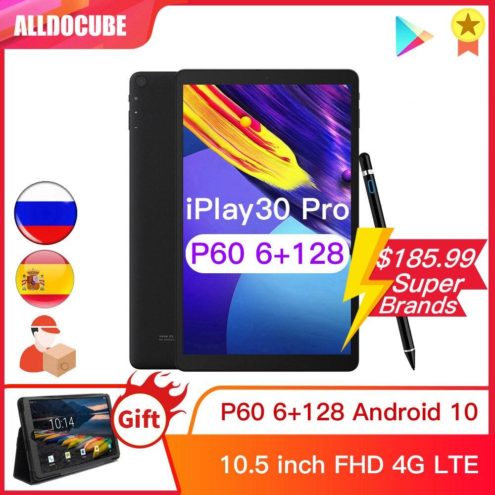 ALLDOCUBE iPlay30 Pro 10.5 بوصة أندرويد 10 كمبيوتر لوحي 6GB RAM 128GB ROM P60 MT 6771 أجهزة لوحية 1920*1200 4G LTE phonecall iPlay 30
