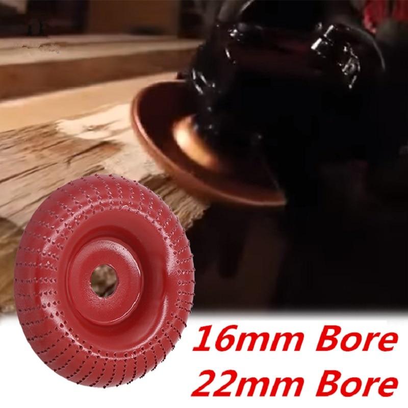 Mola per smerigliatrice angolare in legno tondo disco abrasivo - Utensili abrasivi - Fotografia 6