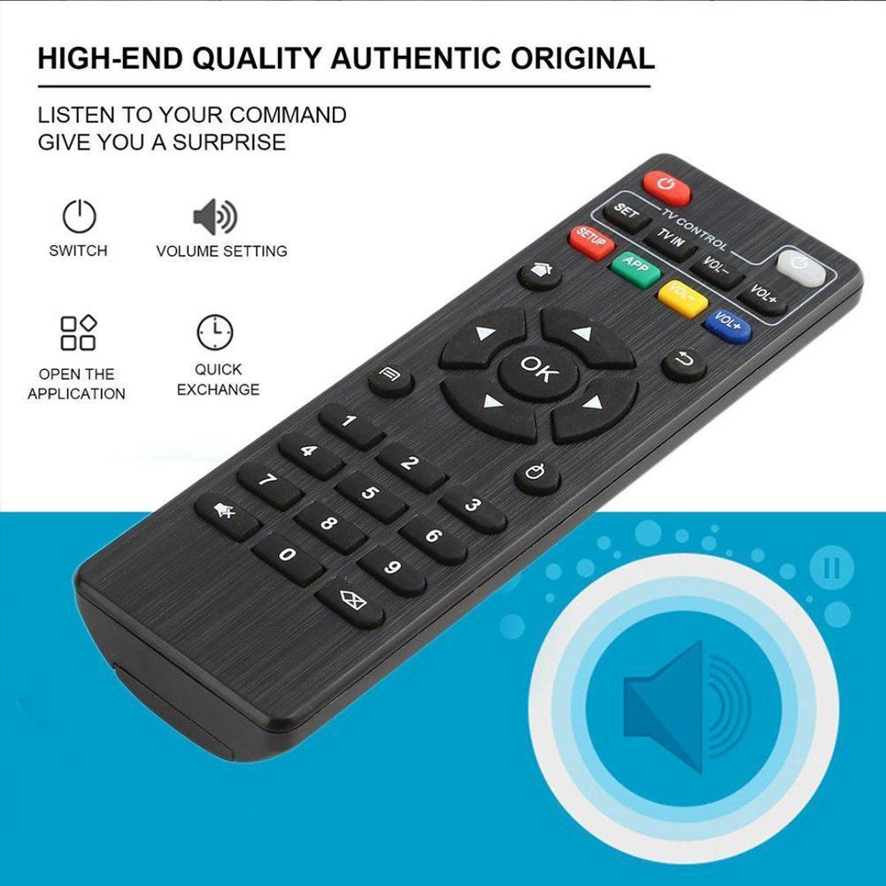 Remote Control Replacement For MXQ 4K MXQ Pro H96 Smart BOX T95M TV For Android T95N D0Q6