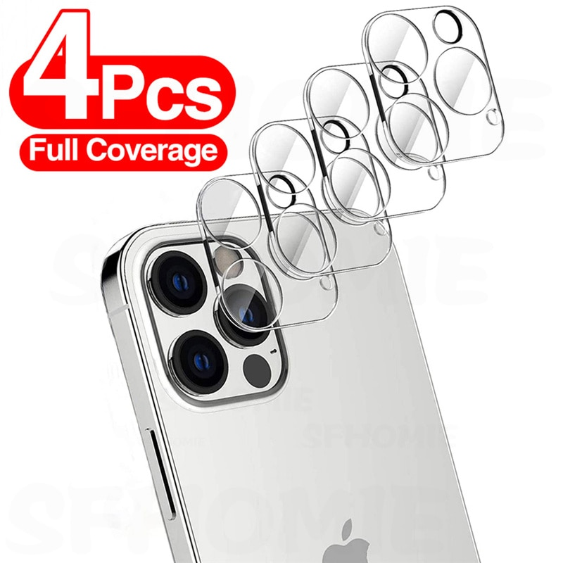 Cristal templado para lente de cmara iPhone Protector de pantalla iPhone 11...