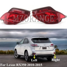 Mzorange Auto Achterbumper Licht Voor Lexus RX270 RX350 RX450h 2010 2011 2012 2013 2014 2015 Staart Reflector Lamp Achter mistlamp