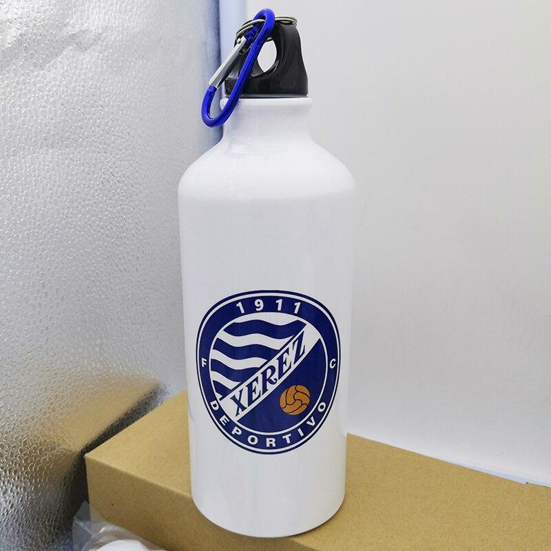 Купить с кэшбэком Custom Metal Bottle Diy Sports Water Bottles Print Logo Name Image 600 ML Hiking Tour Climbing Drinkware Gift Tumbler
