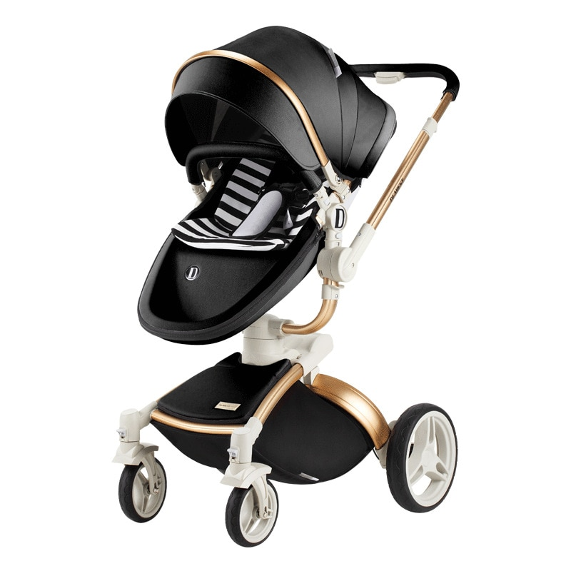 Baby Stroller Winter and Summer use  Can Sit Reclining High Landscape Shock Folding Stroller baby accessories  baby carriage