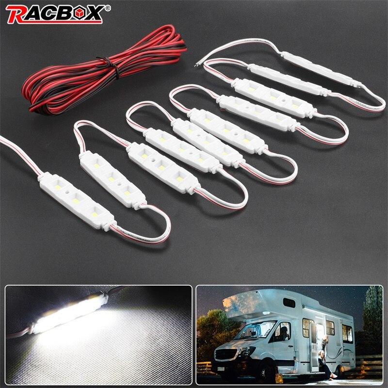 12V LED moduły samochodowe lampa światła zestaw żarówek jasna biała wnętrze LWB dla VW /Van /Sprinter /Ducato /Transit Relay