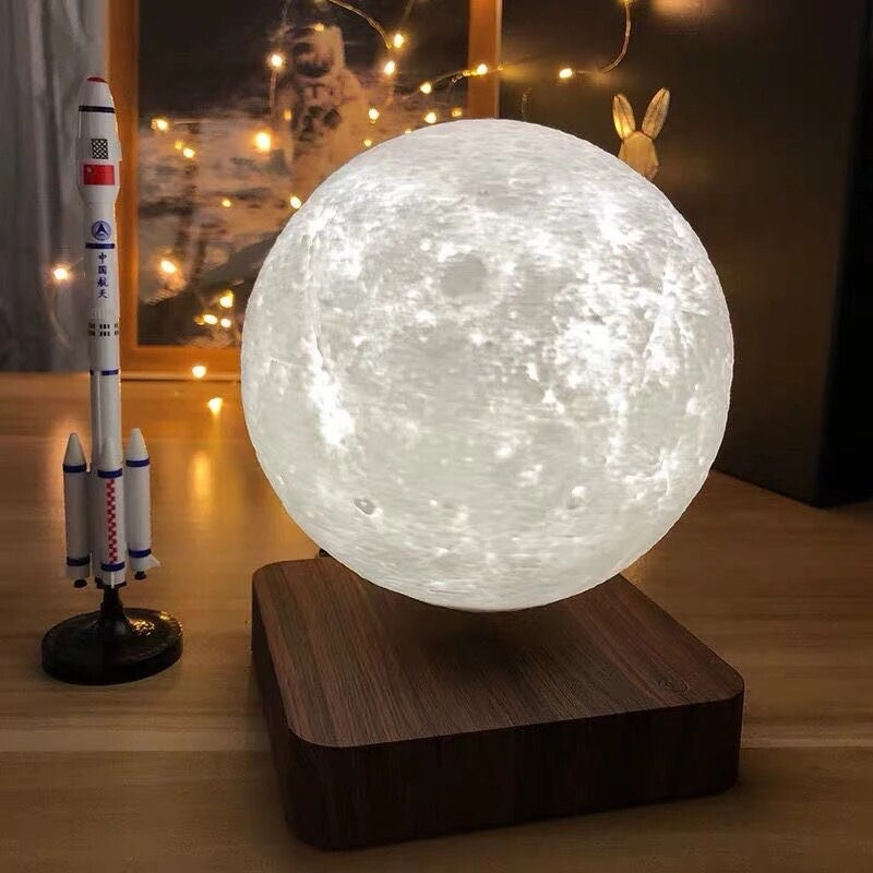 Creative 3D Magnetic Levitation Moon Lamp Table Light Home Deco NEW design Night Light enlarge