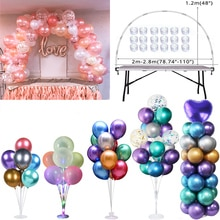 Table Balloon Arch Set Ballon Stand Holder Column for Wedding Birthday Party Decorations Kids Baby Shower Baloon Accessories