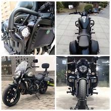Moto avant Crash bars pour KAWASAKI Vulcan S 650 VN650 EN650 s650 2015 2016 2017 2018 2019 2020 noir pare-chocs moteur garde