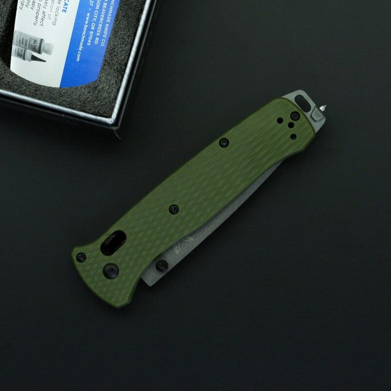 Pocket Folding Knife Nylon Fiber Handle Mark 3V Blade Outdoor Survival Camping Hunting Tactical Knives Utility EDC Tools
