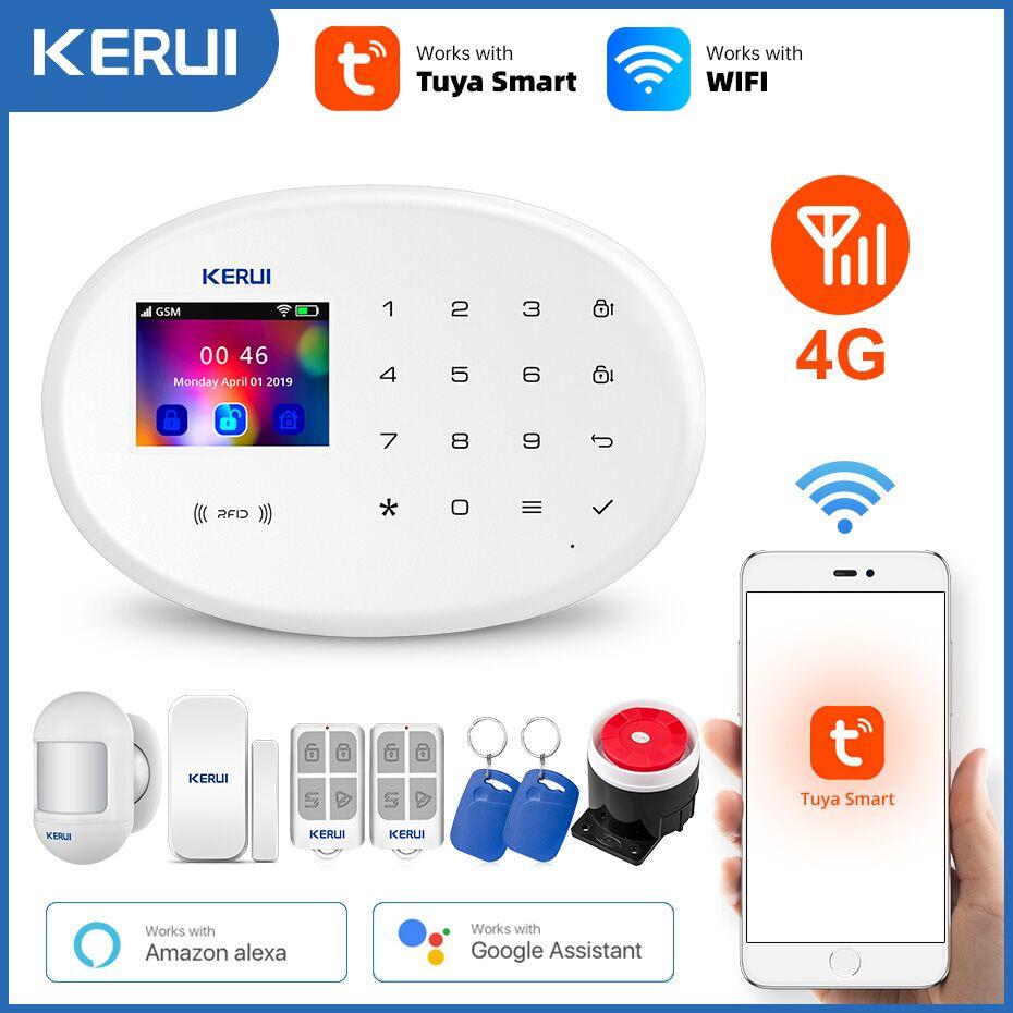 KERUI-Sistema de Alarma de Seguridad para el Hogar, Detector de Movimiento