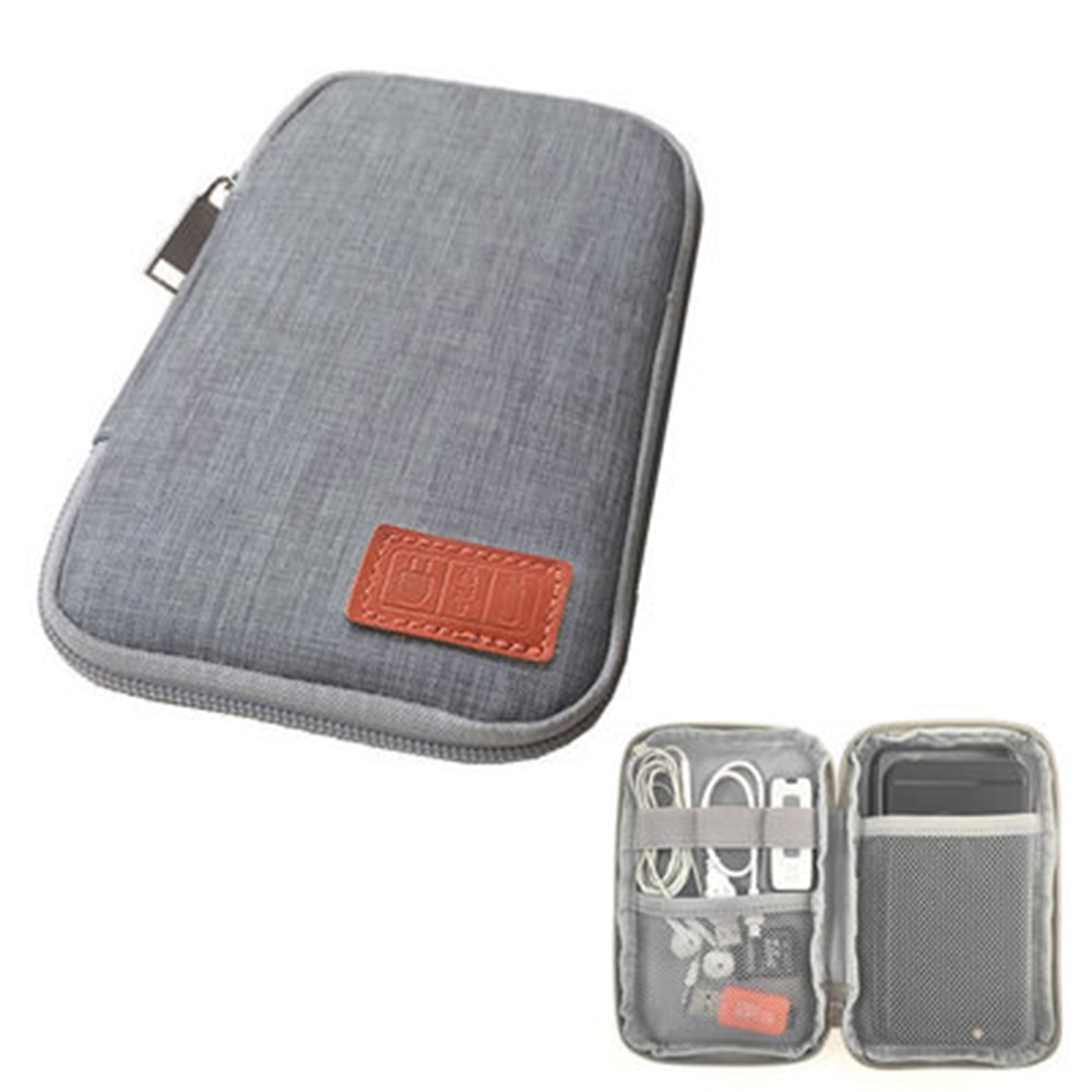 Travel Kit Small Bag Mobile Phone Case Digital Gadget Device USB Cable Data Cable Organizer Travel I