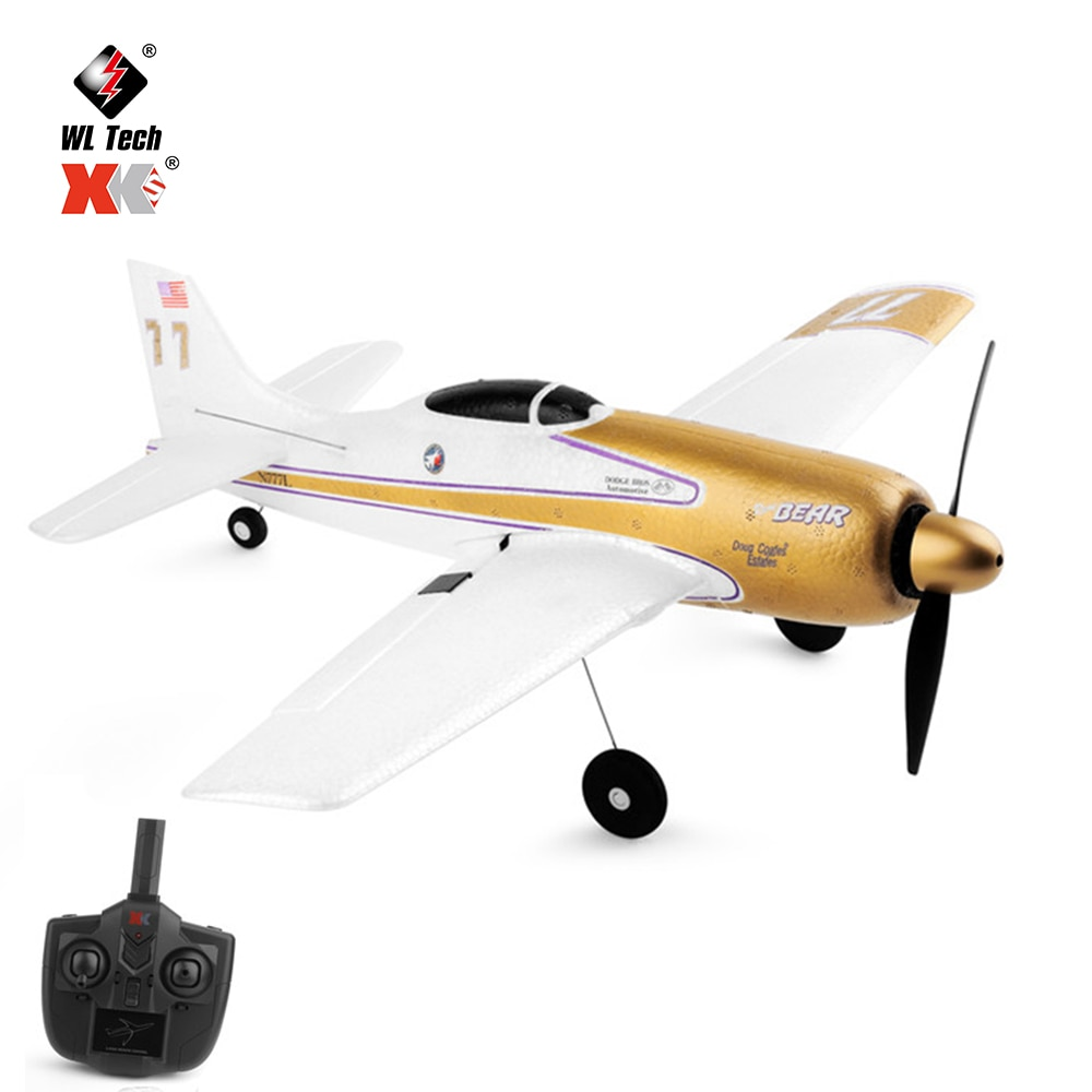 WLtoys XK A260 F8F 4Ch 384 Wingspan 6G/3D Modle Stunt Plane Six Axis Stability Remote Control Airplane Electric RC Aircraft