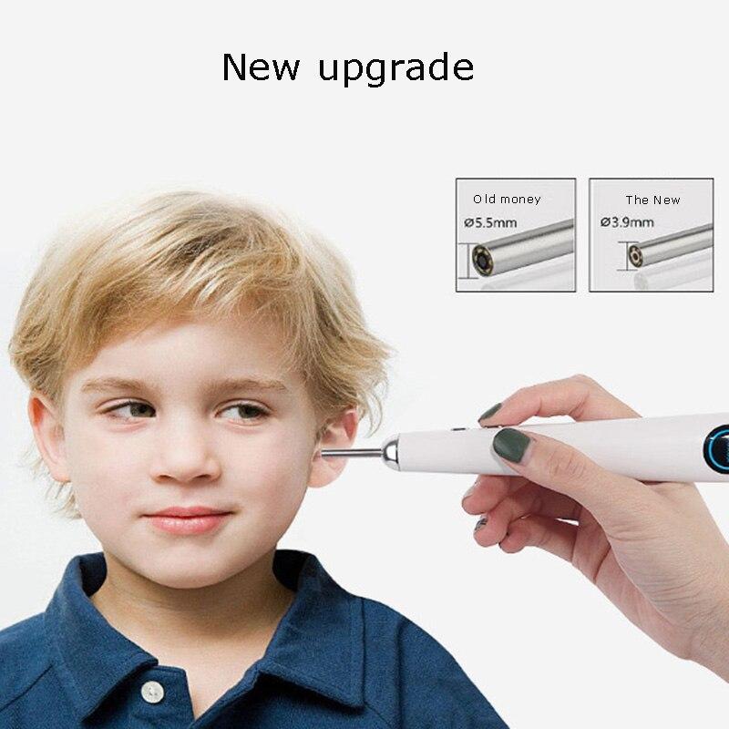 Endoscopio de oreja Visible cuchara de oído otolaringoscopio abridor de oreja ArtifactEar artefacto