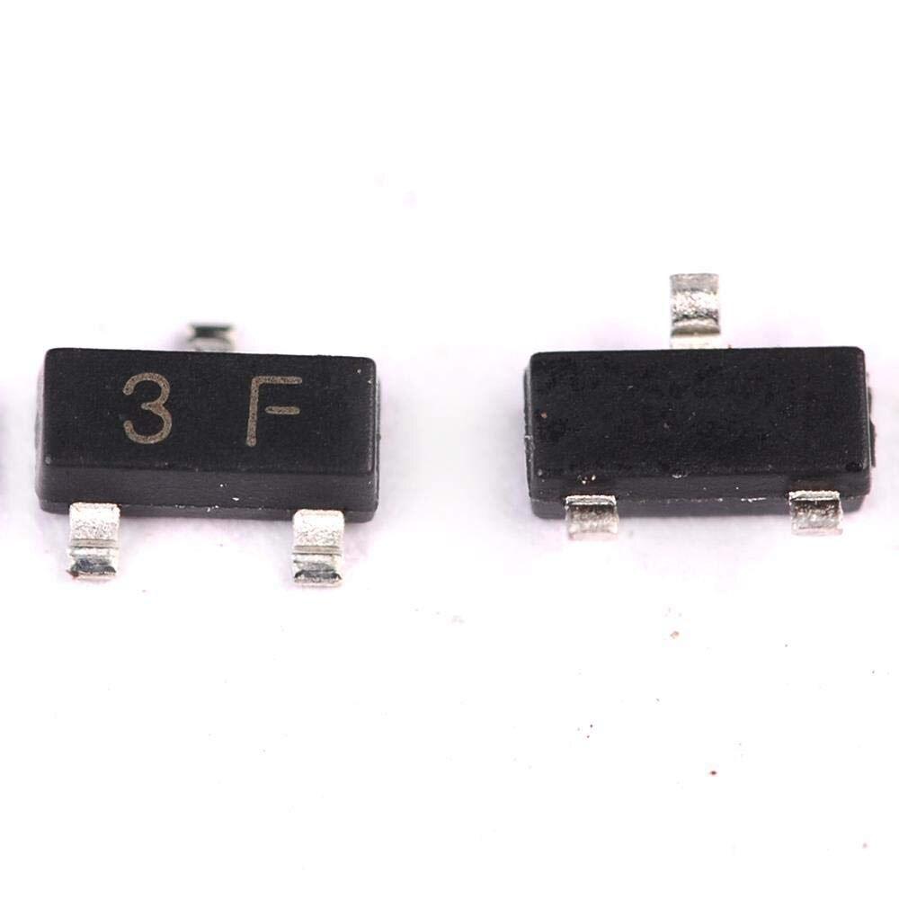 100 TEILE/LOS BC857B BC857 SOT23 SOT SMD SOT-23 SOT23-3 3F transistor Neue original Auf Lager