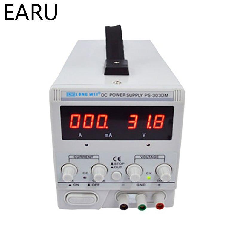 PS-303DM Adjustable Linear DC Voltage Regulator Power Supply Belt MA: 0-990mA