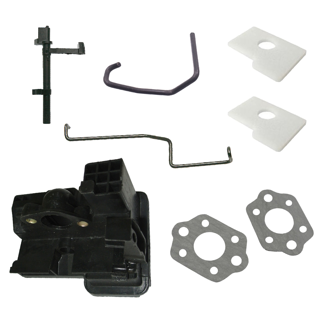 Air Filter Intake Housing Throttle Choke Rod Kit For Stihl MS180 MS170 018 017 throttle choke rod intake manifold air filter breather kit fit husqvarna ms180 ms180c ms170 018 017 chain saw parts