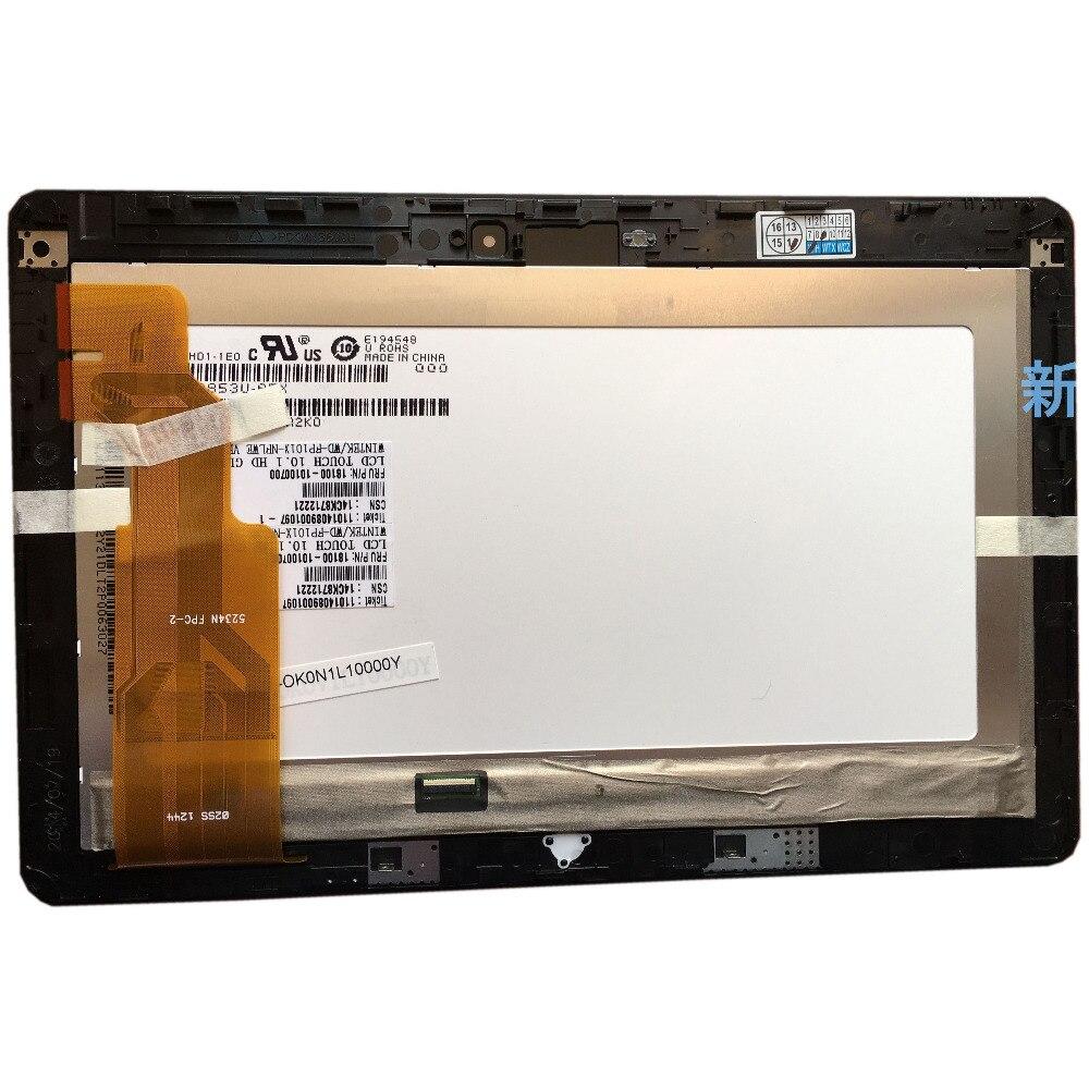ل ASUS VivoTab RT TF600T TF600 5234N FPC-2 LCD تعمل باللمس الجمعية محول الأرقام