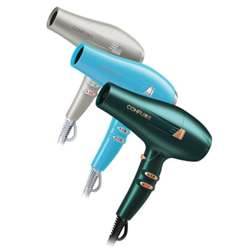 Hot sale CONFU KF5917 hair dryer 2300W high power professional hair salon barber shop household durable lightweight hair dryer
