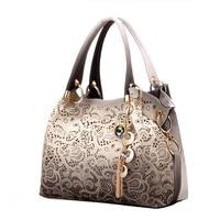 female bags for women hollow out handbags floral print shoulder bags ladies tote bag female tassel handbag top handle bags