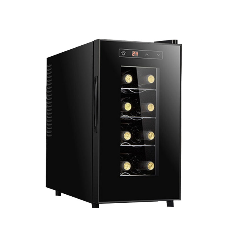 Red wine cabinet constant temperature wine cabinet refrigerator tea cabinet ice bar household mini air cooling
