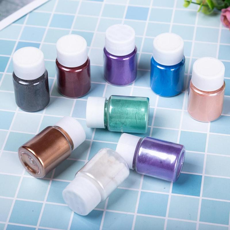 DIY Bath Bomb Soap Making Soap Dye Shimmer Mica Powder Pigments For Cosmetic Candle Party Making Eye